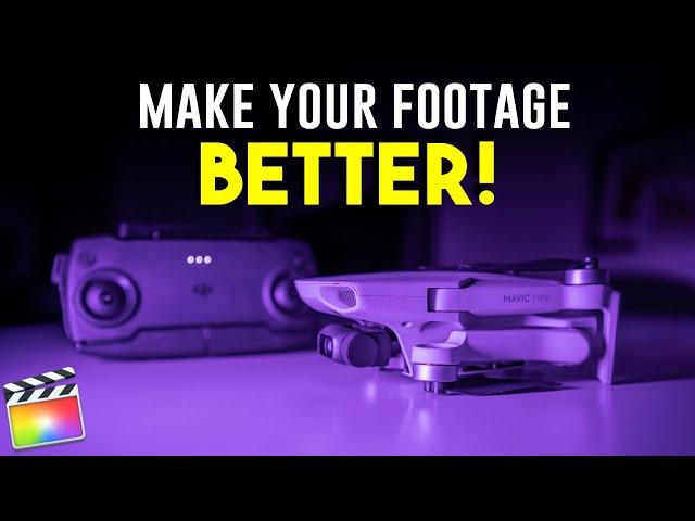 DJI Mavic Mini - 5 Editing Tips for BETTER Footage!