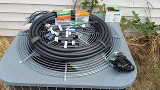 DIY Automatic A/C Condenser Evaporator Mister - Electronically controlled!