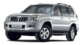 Замена лобового стекла на Toyota Land Cruiser Prado 120 в Казани.