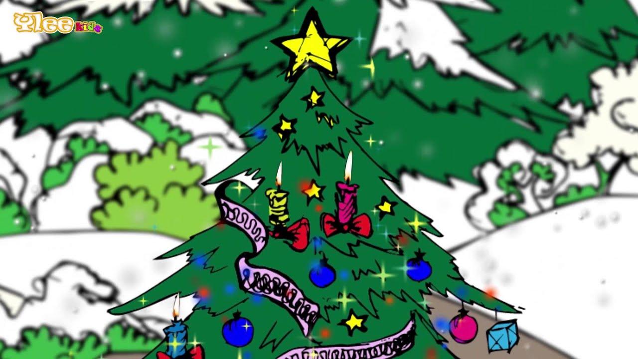 Tannenbaum Animation.Oh Alberello Oh Tannenbaum Zweisprachiges Kinderlied Yleekids