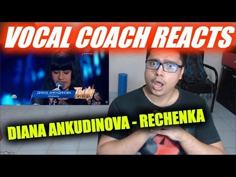 Vocal Coach REACTS to Diana Ankudinova - Rechenka Диана Анкудинова 14 лет, г. Тольятти. «Реченька»