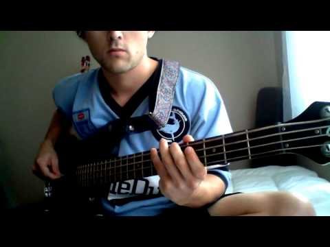 Hunters And Collectors -Holy Grail (bass cover)