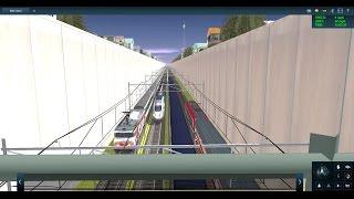 Trainz Railfanning Bloopers: TGV Duplex Derail, Breaks in Half