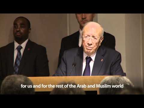 Tunisian Prime Minister Beji Caid Essebsi on Tunisia's transition