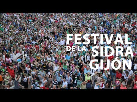 video sur Festival du cidre naturel de Gijón