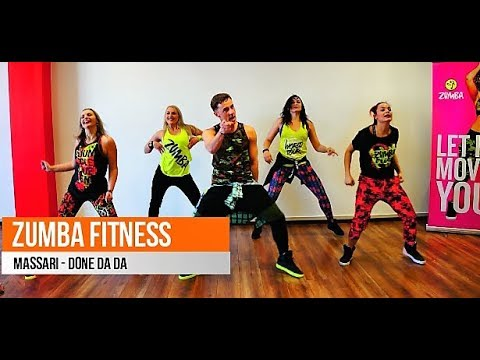 Zumba fitness - Massari - Done Da Da (Krajno Balkan Remix)