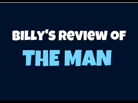Billy's Review of THE MAN, the all natural facial care system.