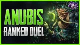 SMITE: Anubis Masters Ranked Duel | Hitting Rexsi with the Samdadude Strat!
