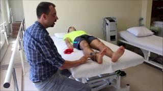 Felçli hastalarda bacak egzersizleri