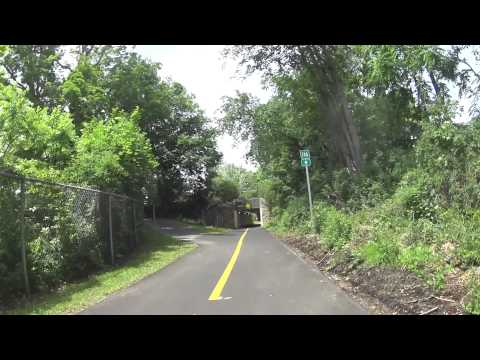Bechertown to Northampton by bike on the Norwottuck Rail Trail
