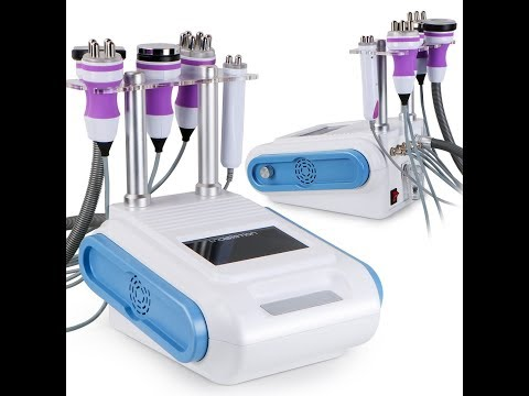 MS5406 Unoisetion Ultrasonic Cavitation 5in1 Radio Frequency Vacuum Therapy Fat Removal