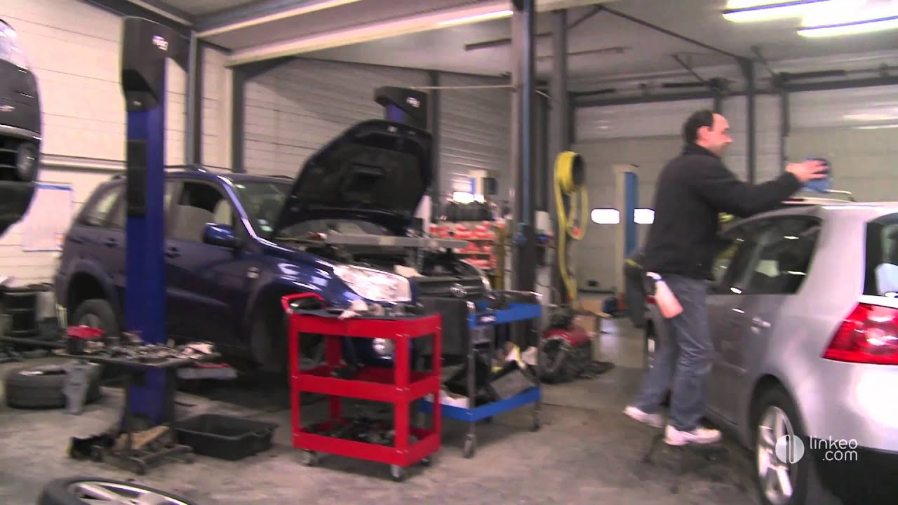 Garage bodry r parations vente voitures 86 youtube for Garage aulnay automobile