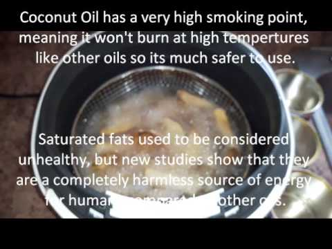 Coconut Oil Is The Best Oil To Use For Frying, Cooking And Baking..