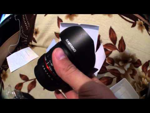 Unboxing Samyang 8mm F/3.5 Canon CSII - Fisheye