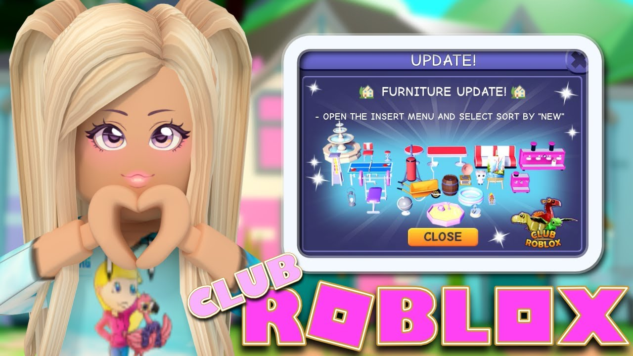 NEW* 🏓 Club Roblox HUGE Furniture Update 🏓 How To Find All The New Items!!! - YouTube