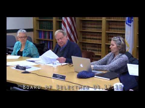 Board of Selectmen 04.17.18