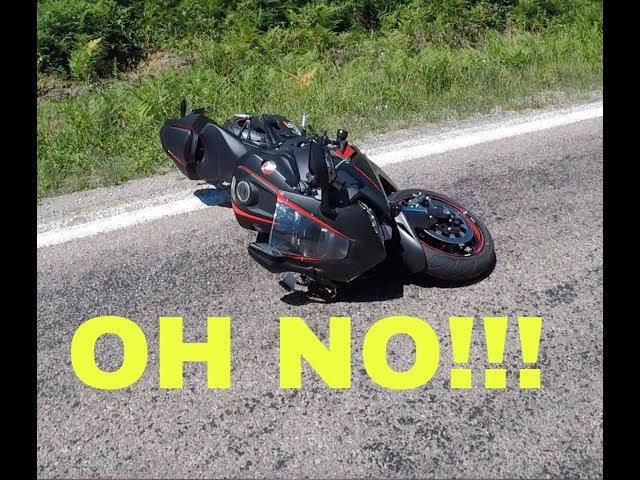 2017 cbr1000rr High Side Crash !!!