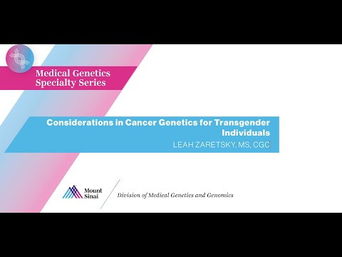 Considerations in Cancer Genetics for Transgender Individuals