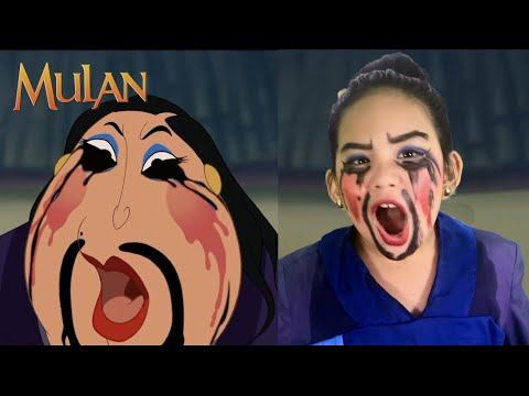 Mulan Live Action | Mulan Kid Version | Mulan Matchmaker Scene