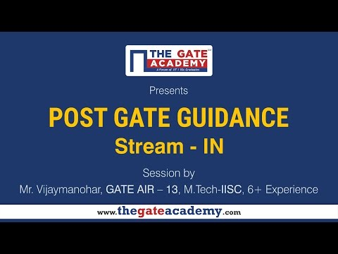 Instrumentation and control engineering   | Post GATE Guidance for M.Tech in IIT/NIT & PSU jobs