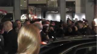 aankomst.Richard Gere  bij de Nederlandse première van zijn nieuwste film Arbitrage