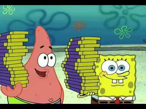 Spongebob and Patrick sell Windows XP