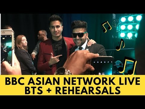 Bbc Asian Network Live Rehearsals / Guru Randhawa & Arjun Perform Suit For First Time!