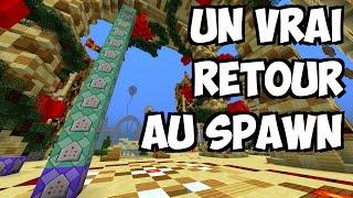 AMÉLIOREZ VOTRE RETOUR AU SPAWN - Tuto Minecraft Vanilla Toutes versions