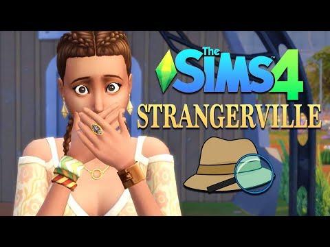 Starting a NEW life in STRANGERVILLE! (The Sims 4 Strangerville) thumbnail
