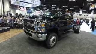 2019 Silverado 4500HD Medium Duty Reveal & Walk Around