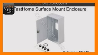 Home Networking Enclosure & Data Module
