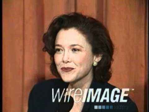 Annette Bening 1991 Oscars Press Interview