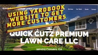 How To Build A Website W/Yardbook To Grow Your Lawn Care Business