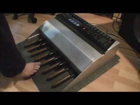 diy midi bass foot pedal project youtube. Black Bedroom Furniture Sets. Home Design Ideas