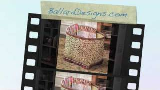 Spruce Up Your Home With Affordable Accents From Ballard Designs