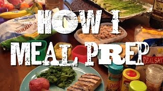 How I Meal Prep on 21 Day Fix Extreme