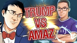 The Frozen Showdown - Trump vs Amaz  Feat. Frozen Throne Decks