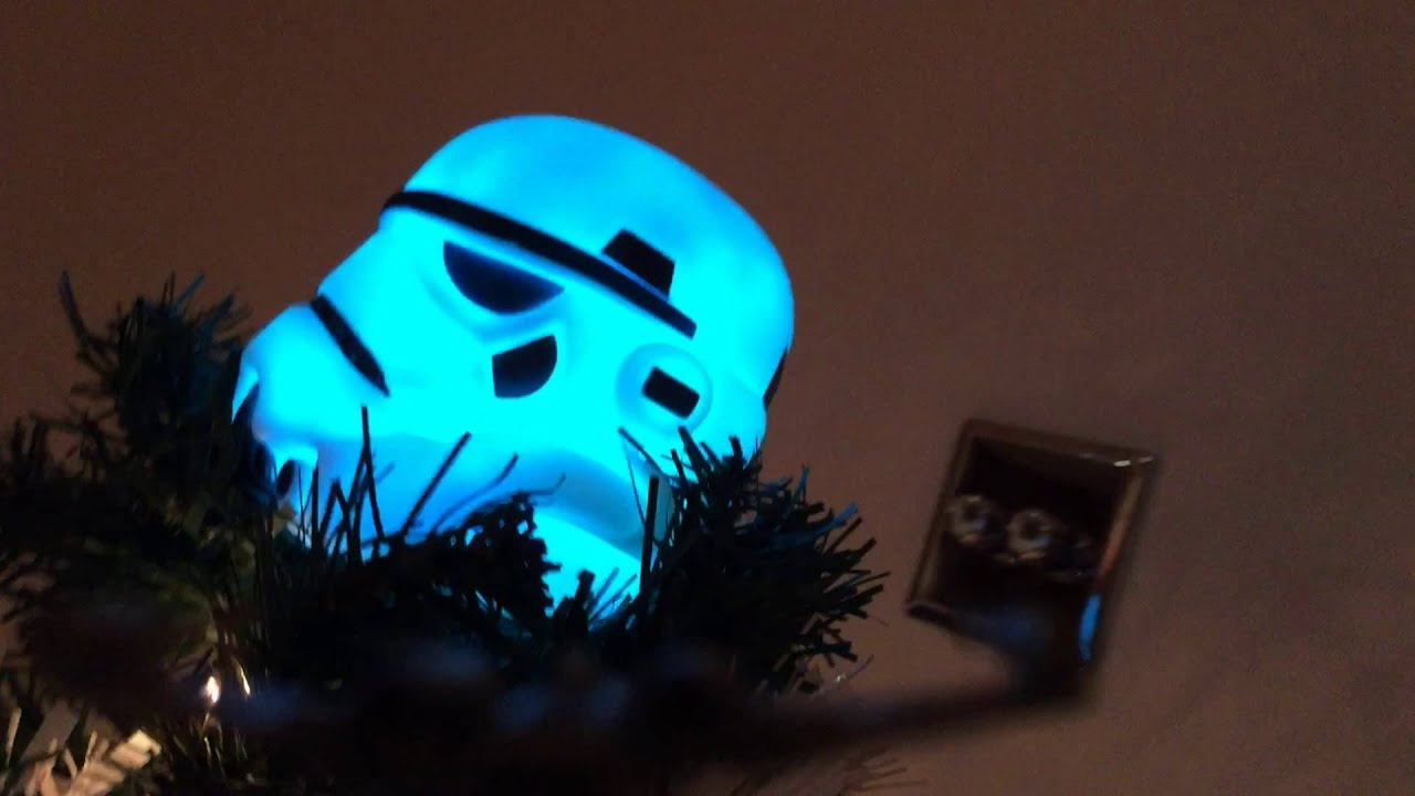 2015 Star Wars Stormtrooper Christmas Tree. - YouTube