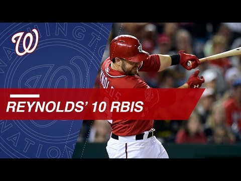 Mark Reynolds collects 5 hits, 2 HRs and 10 RBIs