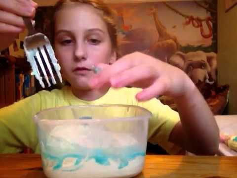 how to make slime using washing detergent
