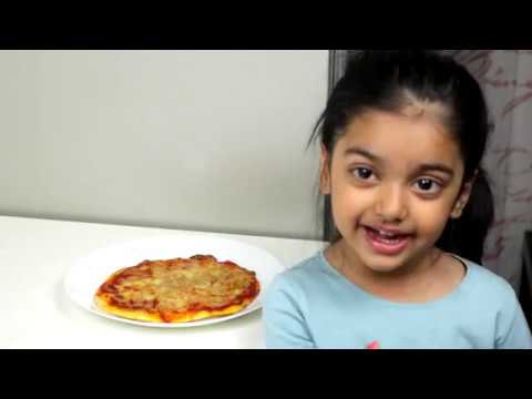 Italian Pizza Cooked By 4 Year Old Girl