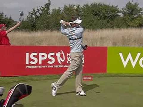 Scott Jamieson, Driver swing (face-on) ISPS Wales Open 2013