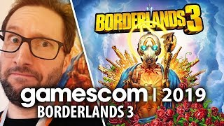 Borderlands 3 - o strzelaniu do gąbek na kule na Gamescom 2019