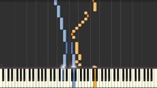 Goldberg Variation No. 25 (J.S. Bach) BWV 988 - Synthesia Piano Tutorial