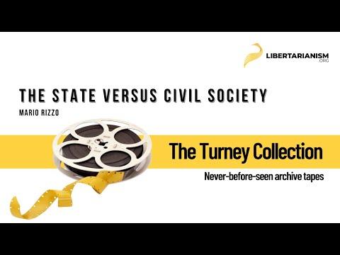 Mario Rizzo: The State versus Civil Society