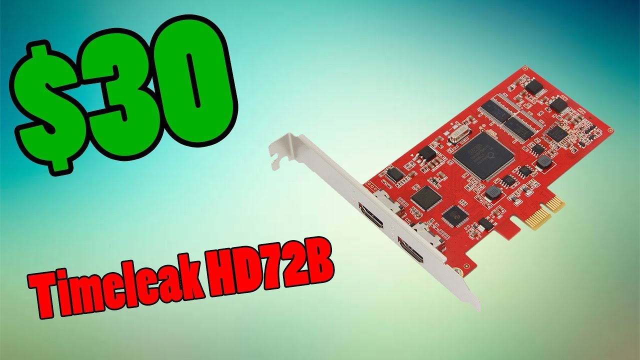 $30 Capture Card?! | YK762H PCI-E Capture Card (Timeleak HD72B) Review by  Devonian Plays