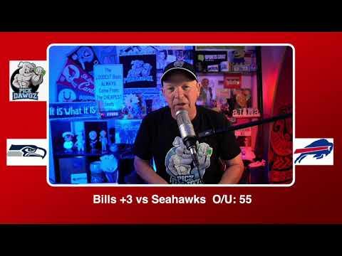 Buffalo Bills vs Seattle Seahawks NFL Pick and Prediction Sunday 11/8/20 Week 9 NFL
