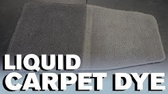 How to Dye Your Carpet - Liquid Dye
