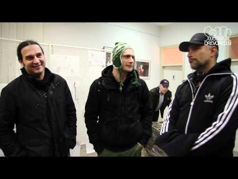 Pes, pizda in peder - Gregor Gruden, Sebastian Cavazza in Gregor Tič v Grosuplju