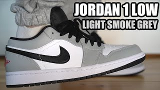 AIR JORDAN 1 LOW LIGHT SMOKE GREY REVIEW & ON FEET + RESELL PREDICTIONS
